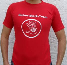 T-Shirt -Sicher+Stark- - Bild vergrößern