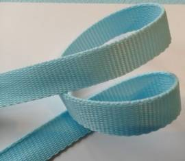 Gurtband 25 mm hellblau NEU!!! - Bild vergrößern