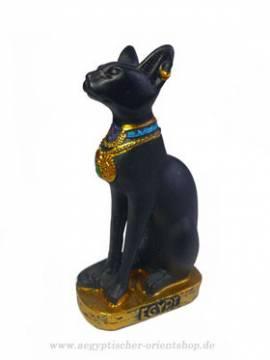 Ägyptische Figur, Bastet Katze - Bild vergrößern