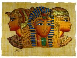 Papyrus Tutanchamun, Nofretete und Kleopatra