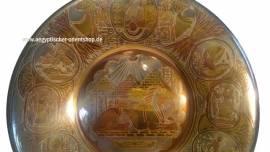 Pharaonischer Dekoteller ca. 25cm. Nr-648 - Bild vergrößern