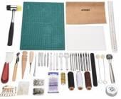 Werkzeug Set (75 Teile) zur Lederbearbeitung 80-9001