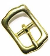 Stegschnalle 16 mm Messing  ( Islandschnalle ) 12-5013