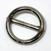 Ring mit Steg geschweisst vernickelt 16x2,8 mm 14-3003