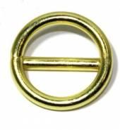 Ring mit Steg Messing 20x3,5 12-3051