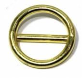 Ring mit Steg Messing 25x4 12-3052