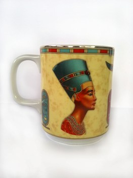 Porzellan-Tasse Königin Nofretete