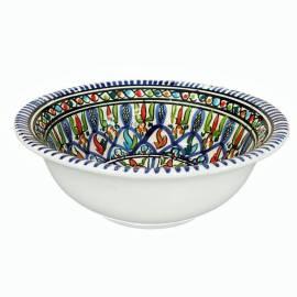 Orientalische Keramikschüssel 20 cm