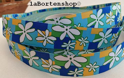 Webband Retro flower