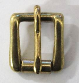 Rollschnalle 16 mm Messing 12-5038-1