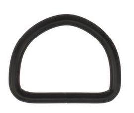 D-Ring geschweisst schwarz 30x24x4,0 mm 14-4023