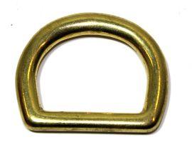 -Extra Starker- D-Ring  Messing 25 mm 12-4022