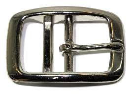 Doppelstegschnalle vernickelt 16mm 10-2001