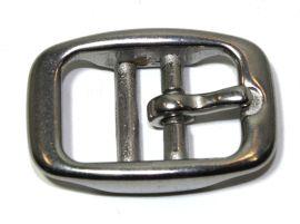 Doppelstegschnalle Edelstahl 20 mm 16-4101