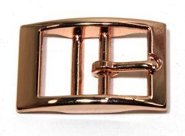 Doppelstegschnalle rosegold 25 mm 11-5005