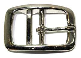 Doppelstegschnalle vernickelt 25mm 10-2003