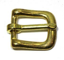 Geschirrschnalle Messing 12 mm  12-5000