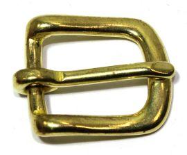 Geschirrschnalle 16 mm Messing 12-5071