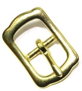 Stegschnalle 20 mm Messing ( Islandschnalle ) 12-5015