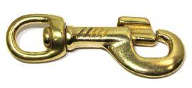 Karabinerhaken Messing 12 mm 12-1018