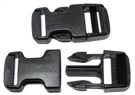 Steckschnalle gerade Form 25 mm aus Acetal 18-2004