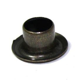100 Stück Ösen / Lochniete Stahl brüniert 6,7 x 6,4mm 14-4147