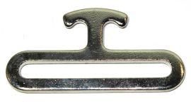 Pferdedecken Verschluss 50mm MALE Stahl vernickelt  14-6021
