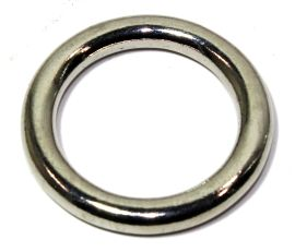 Ring  Messing VERNICKELT 38 mm  12-3037