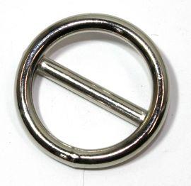 Ring mit Steg geschweisst vernickelt 20x3,5 mm 14-3004