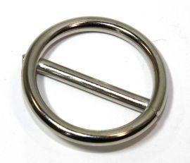 Ring mit Steg geschweisst vernickelt 25x4,0 mm 14-3005