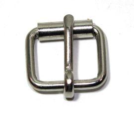 Rollschnalle 12mm Stahl vernickelt 14-6026