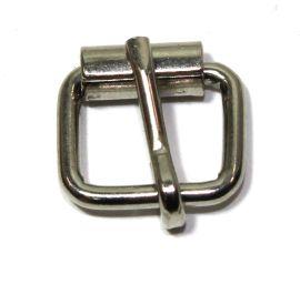 Rollschnalle 14mm Stahl vernickelt 14-6027