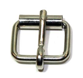 Rollschnalle 16mm Stahl vernickelt 14-6028
