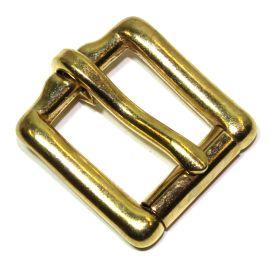 Rollschnalle 18 mm Messing 12-5040