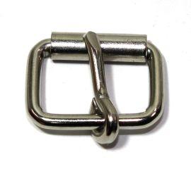 Rollschnalle 18mm Stahl vernickelt 14-6029