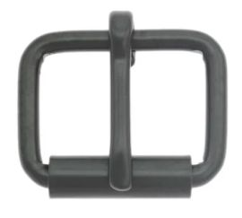 Rollschnalle 20mm Stahl schwarz 14-6061