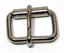 Rollschnalle 20mm Stahl vernickelt 14-6030