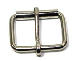 Rollschnalle 25mm Stahl vernickelt 14-6031