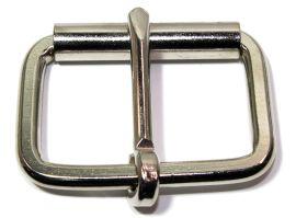 Rollschnalle 50mm Stahl vernickelt flach 14-6024