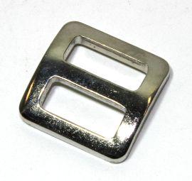 Schieber / Stopper 15mm Stahl vernickelt 14-6042
