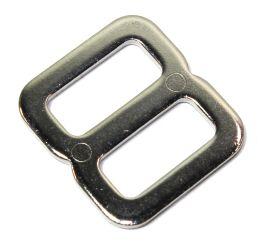 Schieber / Stopper 20mm Stahl vernickelt  14-6014