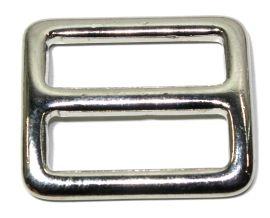 Schieber Stopper 25mm Messing vernickelt 12-5047