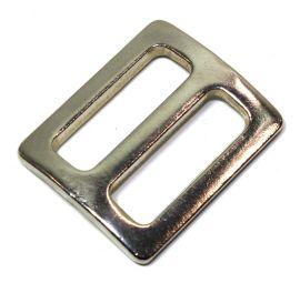 Schieber / Stopper 25mm Stahl vernickelt  14-6001
