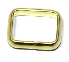 Schlaufe 16 mm Messing 12-5049