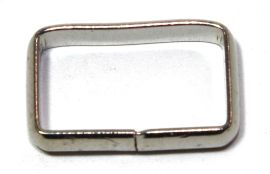 Schlaufe 16mm Stahl vernickelt 14-6053