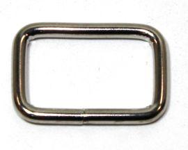 Schlaufe 16mm, runder Draht, Stahl vernickelt 14-6037
