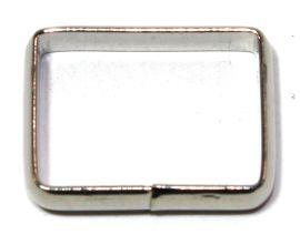 Schlaufe 18mm, hohe Form, Stahl vernickelt 14-6007