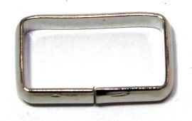 Schlaufe 20mm Stahl vernickelt 14-6003