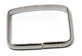 Schlaufe 20mm, hohe Form, Stahl vernickelt 14-6008