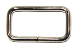 Schlaufe 20mm, runder Draht, Stahl vernickelt 14-6038